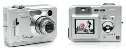 Digitální fotoaparát Praktika Luximedia 6013
