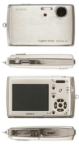Digitální fotoaparát Sony DSC T33