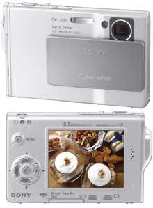 Digitální fotoaparát Sony Cyber-shot T7