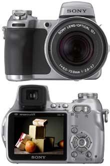 Digitální fotoaparát Sony Cyber-shot DSC-H1