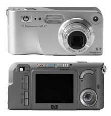 Ddigitální fotoaparát HP PhotoSmart M517