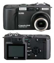 Ddigitální fotoaparát Ricoh Caplio GX8