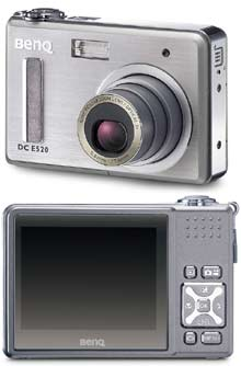 Digitální fotoaparát Benq E520
