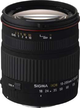 objektiv Sigma 3,5-6,3/18-200 mm DC