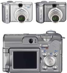 Digitální fotoaparát Canon PowerShot A610 a A620