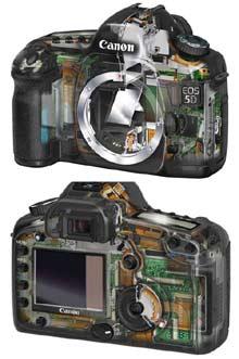 Digitální fotoaparát Canon EOS-5D