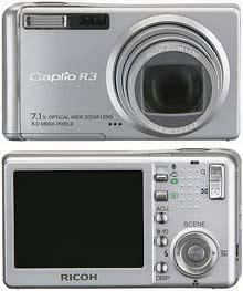 Digitální fotoaparát Ricoh Caplio R3