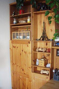 Úložné prostory nahradily nevzhlednou zadní část kuchyňské ...