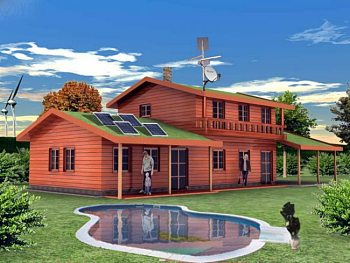 Ekologický dům v Jindřichovicích pod Smrkem