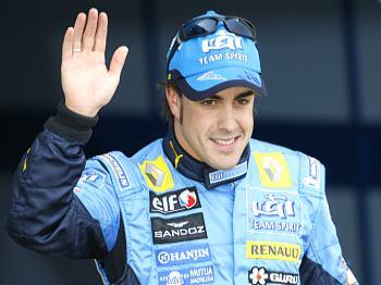 Alonso se raduje