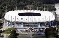 AOL Arena v Hamburku