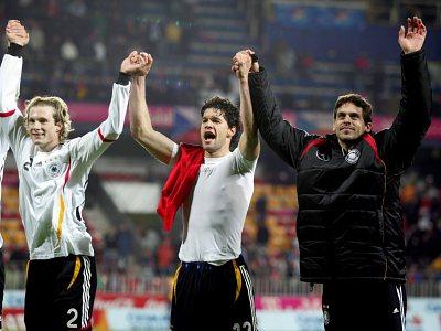 Němci slaví vítězství v Praze