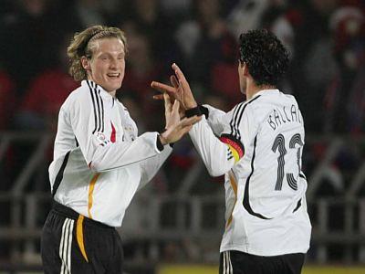 Němci slaví gól