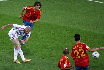 Španělsko - Francie