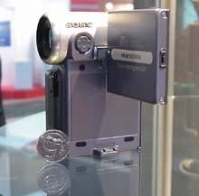 Miniaturní kamera Sony DCR-IP5