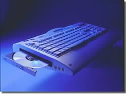 PC v klávesnici