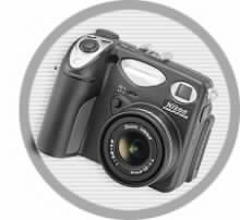 Postižený přístroj Nikon Coolpix 5000