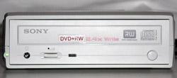 Jedna z prvních DVD+RW mechanik od Sony