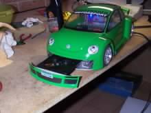 Počítač v modelu WV Beetle