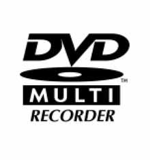 Jedno z log, které se může objevit na nových mechanikách s podporou DVD Multi