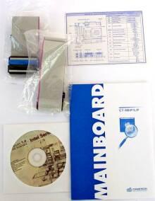 Manuál a CD s ovladači pro motherboardy Chaintech