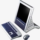 LCD PC od ECS AIO