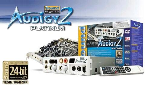 Audigy2 Platinum
