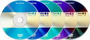barevné DVD-R od FujiFilm