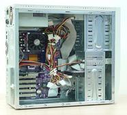 Vnitřní uspořádání All Computer Excellent K7XP/2400