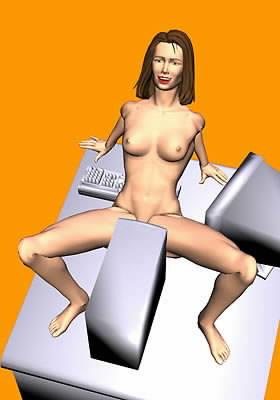 Nefalšovaný sex na dálku prostřednictvím PC
