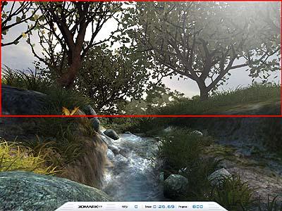 3DMark03 Game4 Mother Nature 800 Frame - originál