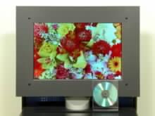 Davcetipalcový prototyp OLED displeje