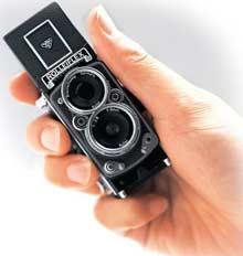 Digitální fotoaparát MiniDigi Rolleiflex