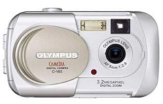Digitální fotoaparát Olympus C-160