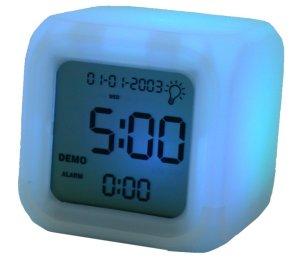 Aurora Colour Changing Clock (3gnewsroom.mobiles.co.uk)