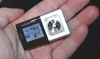 Miniaturní přehrávač videa