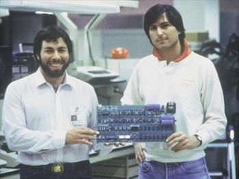 Steve Wozniak a Steve Jobs