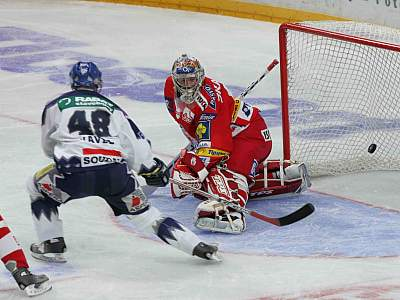 Slavia - Kladno, Svoboda (vpravo) a Havel