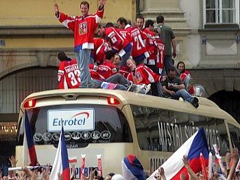 Oslavy na busu