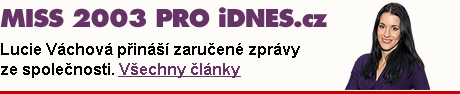 MISS 2003 PRO iDNES.cz - všechny články