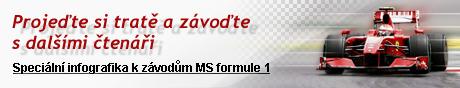 Projeďte si tratě a závoďte s dalšími čtenáři - speciální infografika k závodům MS formule 1