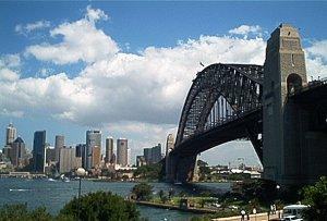 Sydney a Harbour Bridge