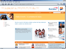 Screenshot www.eurotel.cz (27.5.2004 9:30)