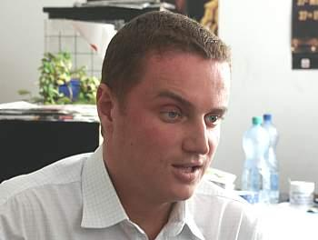 Vladan Crha během on-line rozhovoru
