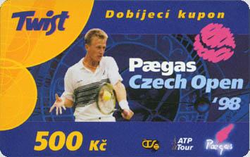 Specialní Twist kuponek pro Paegas Open