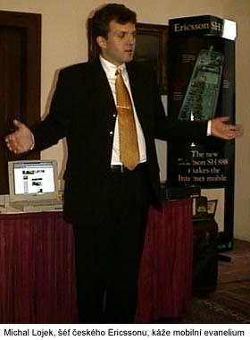 Šéf českého Ericssonu káže mobilní evangelium