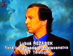 Luboš Řežábek, bývalý předseda představenstva SPT Telecom