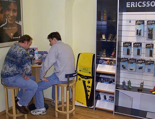 Takhle se nakupuje u Ericssonu.
