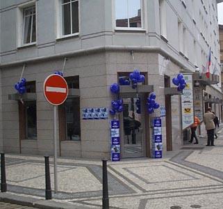 prodejna Cellular Star v Klimentské ulici