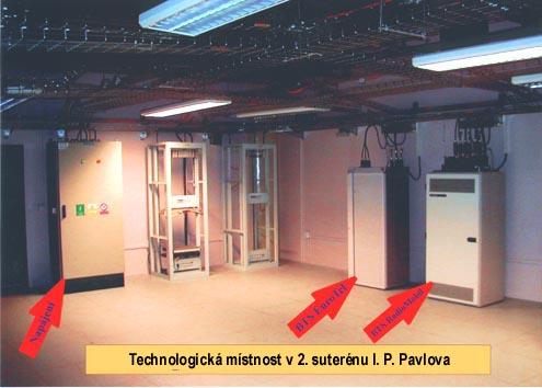 Jak vypadá technologická místnost